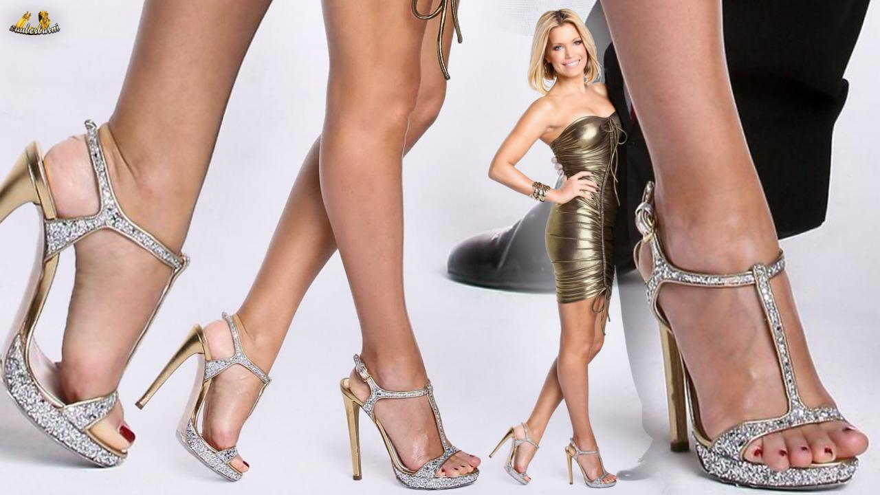 Sylvie van der vaart füße